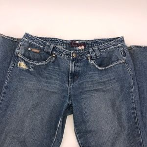 Candie's Bell Flared Wide Leg Jeans Used Size 13